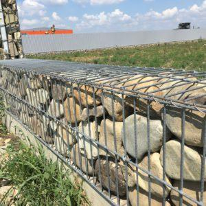 Строительство забора из габионов г. Джанкой Республика Крым